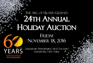 2016 holiday auction flyer