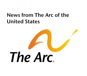 News from The Arc of the United States with logo